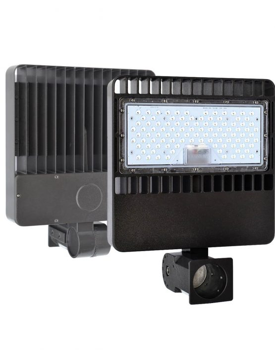 led parking lot pole light fixture (100W – 150W)