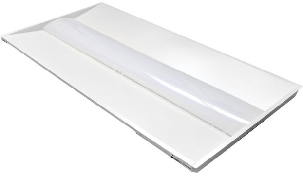 LED 2X4 TROFFER LIGHT for GRID CEILINGS (35W-50W)
