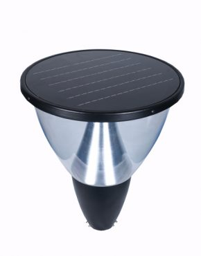Clear Outdoor Solar Post Top