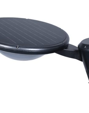 Black Bulbed Outdoor Solar Light