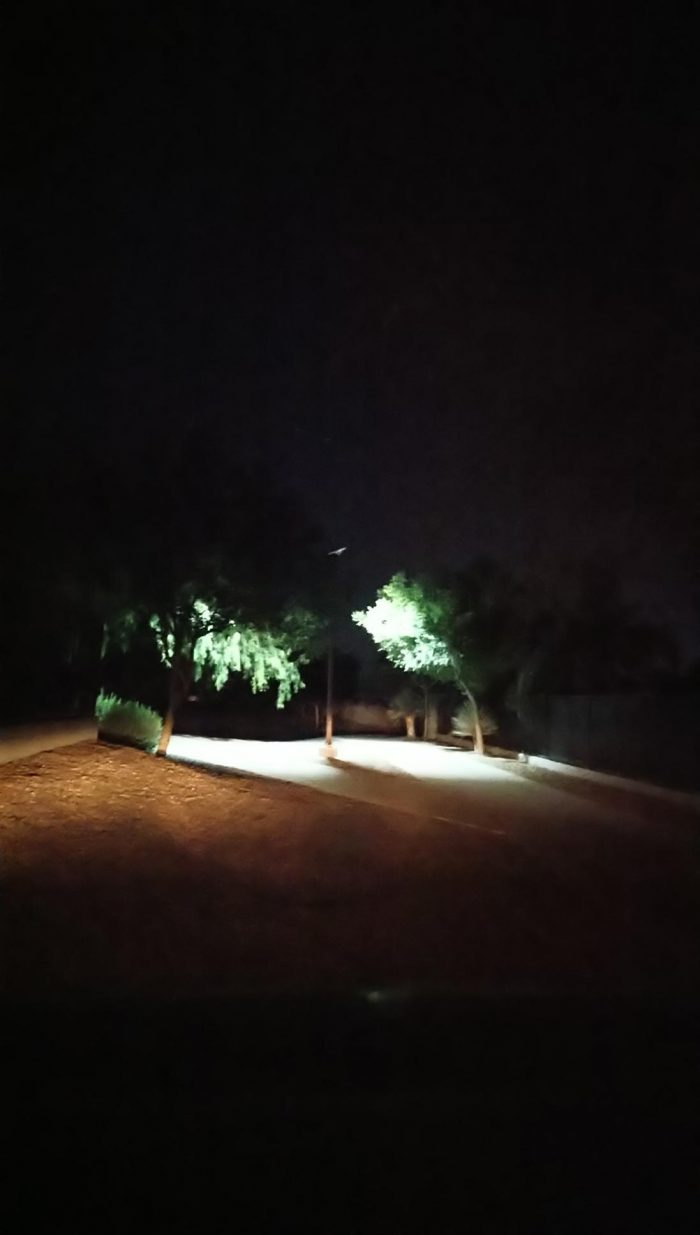 LED SOALR POLE LIGHT